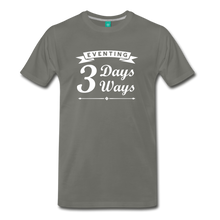 Load image into Gallery viewer, Men's 3 Days 3 Ways T-Shirt - asphalt