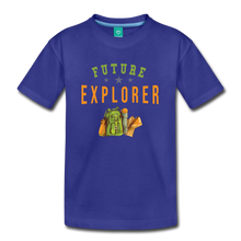 Load image into Gallery viewer, Kids' Future Explorer T-Shirt - royal blue