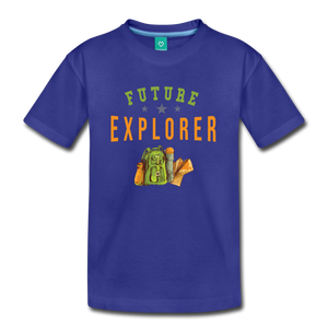 Kids' Future Explorer T-Shirt - royal blue