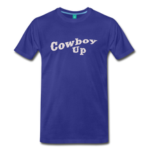 Load image into Gallery viewer, Men's Cowbou Up T-Shirt - royal blue
