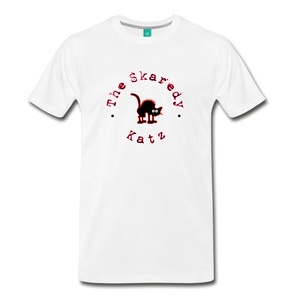 Men's The Skaredy Katz T-Shirt - white