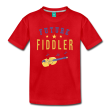 Load image into Gallery viewer, Kids' Future Fiddler T-Shirt - red
