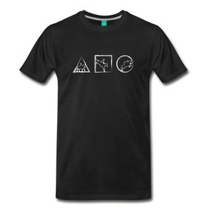 Men's Horse Symbols T-Shirt - black