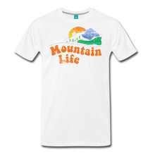 Load image into Gallery viewer, Men's 60s Mountain T-Shirt - white