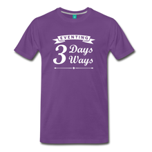 Load image into Gallery viewer, Men's 3 Days 3 Ways T-Shirt - purple