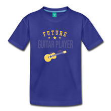 Load image into Gallery viewer, Toddler Guitar Player T-Shirt - royal blue