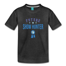 Load image into Gallery viewer, Toddler Future Show Hunter T-Shirt - charcoal gray