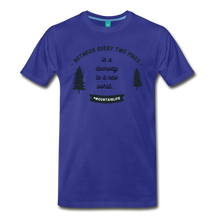 Load image into Gallery viewer, Men's Between Every Two Pines T-Shirt - royal blue