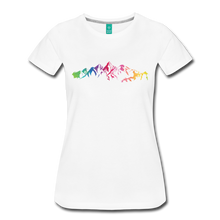 Load image into Gallery viewer, Women's Mountain Proud T-Shirt - white