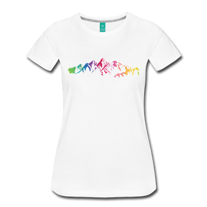 Women's Mountain Proud T-Shirt - white