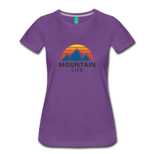 Load image into Gallery viewer, Women's Mountain Life Shirt - purple