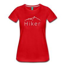 Load image into Gallery viewer, Women's Hiker T-Shirt - red
