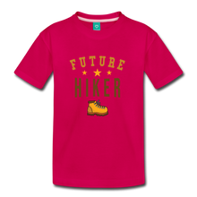Load image into Gallery viewer, Toddler Future Hiker T-Shirt - dark pink