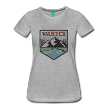Load image into Gallery viewer, Women's Wander T-Shirt - heather gray