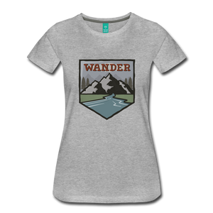 Women's Wander T-Shirt - heather gray