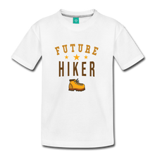 Load image into Gallery viewer, Toddler Future Hiker T-Shirt - white