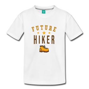 Toddler Future Hiker T-Shirt - white