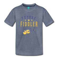 Load image into Gallery viewer, Toddler Future Fiddler T-Shirt - heather blue