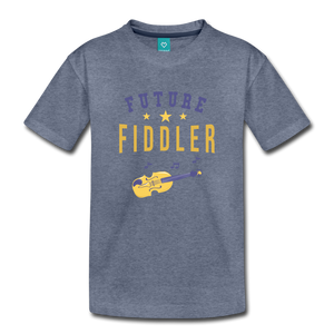 Toddler Future Fiddler T-Shirt - heather blue