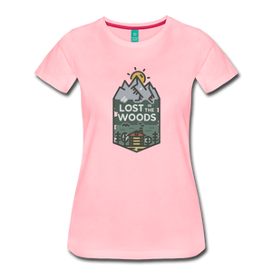 Women's Lost T-Shirt - pink