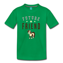 Load image into Gallery viewer, Kids' Future Friend T-Shirt - kelly green