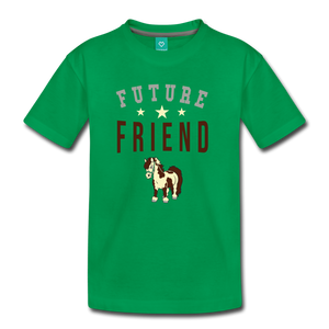Kids' Future Friend T-Shirt - kelly green