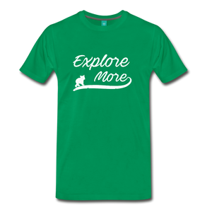 Men's Explore More T-Shirt - kelly green