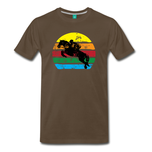 Men's Jumping Sun T-Shirt - noble brown