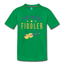 Load image into Gallery viewer, Kids' Future Fiddler T-Shirt - kelly green
