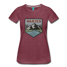Load image into Gallery viewer, Women's Wander T-Shirt - heather burgundy