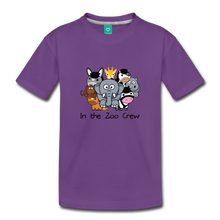 Load image into Gallery viewer, Toddler In the Zoo Crew T-Shirt - purple