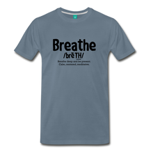 Load image into Gallery viewer, Men's Breathe T-Shirt - steel blue