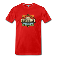 Load image into Gallery viewer, Men's North Lake T-Shirt - red