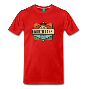 Men's North Lake T-Shirt - red