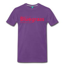 Load image into Gallery viewer, Men's Bluegrass Kinda Life T-Shirt - purple