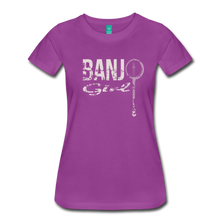 Load image into Gallery viewer, Women's Banjo Girl T-Shirt - light purple