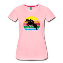 Load image into Gallery viewer, Women's Jumping Sun T-Shirt - pink