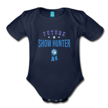 Load image into Gallery viewer, Future Shown Hunter Baby Bodysuit - dark navy