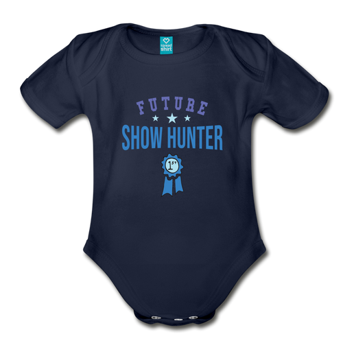 Future Shown Hunter Baby Bodysuit - dark navy