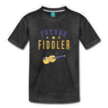 Load image into Gallery viewer, Toddler Future Fiddler T-Shirt - charcoal gray