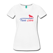 Load image into Gallery viewer, Women's True Love T-Shirt - white