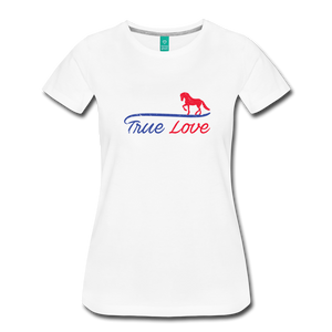 Women's True Love T-Shirt - white