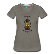 Load image into Gallery viewer, Women's Lantern T-Shirt - asphalt