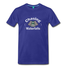 Load image into Gallery viewer, Men's Chasing Waterfalls T-Shirt - royal blue