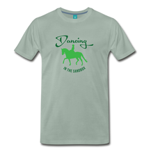 Load image into Gallery viewer, Men's Dancing in the Sandbox T-Shirt - steel green