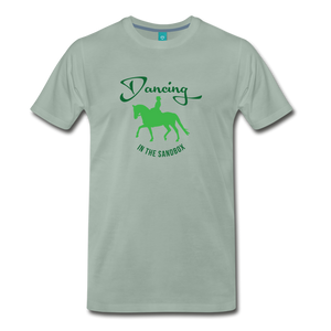 Men's Dancing in the Sandbox T-Shirt - steel green