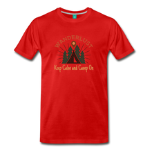 Load image into Gallery viewer, Men's Keep Calm, Camp On - red