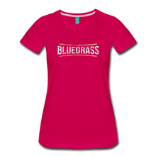 Load image into Gallery viewer, Women's Bluegrass T-Shirt - dark pink