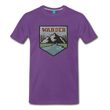 Load image into Gallery viewer, Men's Wnderer T-Shirt - purple