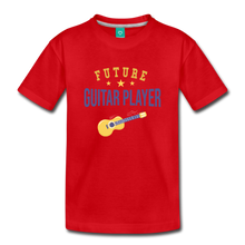 Load image into Gallery viewer, Toddler Guitar Player T-Shirt - red